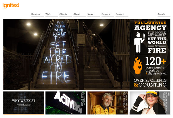Ignited 2011 website