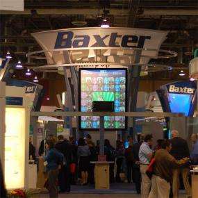 typical trade show installation, Las Vegas 2007