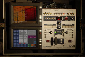 vs3 touchscreen rig with Roland V4 mixer